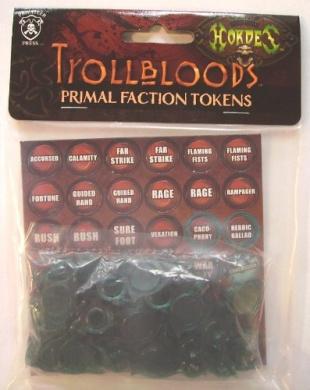 Hordes Trollbloods Faction Tokens PIP 91008