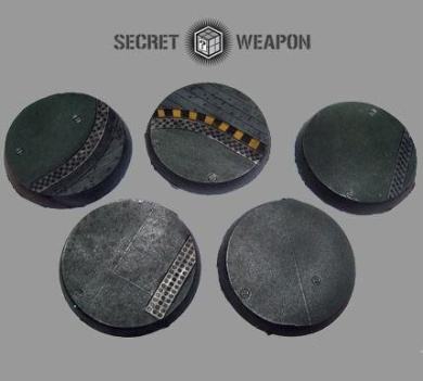 Secret Weapon - Scenic Bases: Bevelled Edge 40mm Flight Deck # 1 (5)