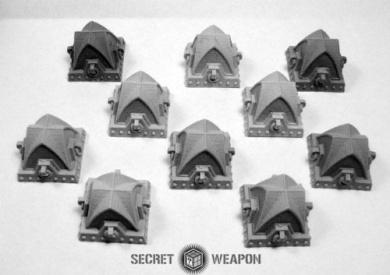 Secret Weapon - Terrain: Gothic Tank Traps