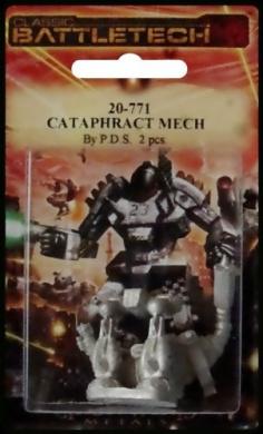 BATTLETECH 20-771 Cataphract CTF-1X