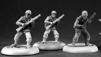 American Infantrymen Reich of the Dead Miniature Figures by Reaper Miniatures