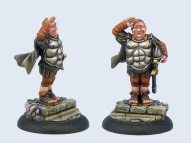 28mm Discworld Miniatures: Sergeant Fred Colon