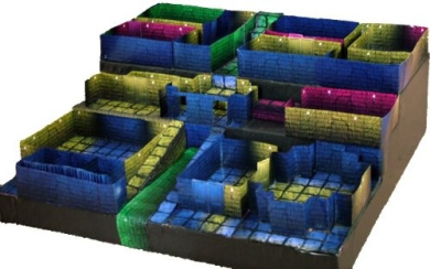 The Deplorable Dungeon - 3D Papercraft Dungeon Tile Maps