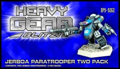 Heavy Gear Blitz: Nucoal - Jerboa Paratrooper Two Pack