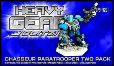 Heavy Gear Blitz: NuCoal - Chasseur Paratrooper Two Pack