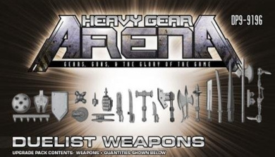 Heavy Gear Arena: Duelist Weapons Upgrade Pack