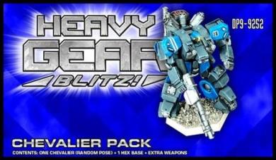 Heavy Gear Blitz: NuCoal - Chevalier Pack