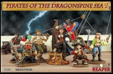 Pirates of the Dragonspine Sea 2