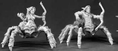 Isiri Arachnid Archer Warlord Miniature