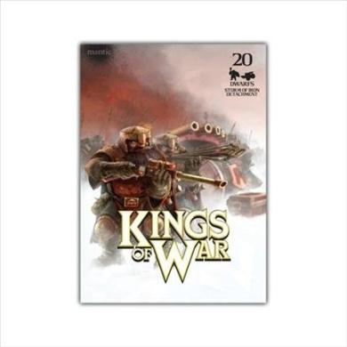 Kings of War: Dwarf Storm of Iron Detachment (20+wm)