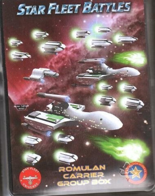 Starline 2400 Miniatures: Romulan Carrier Group Box
