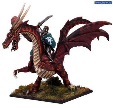 Kings of War: Elf Lord on Battledragon