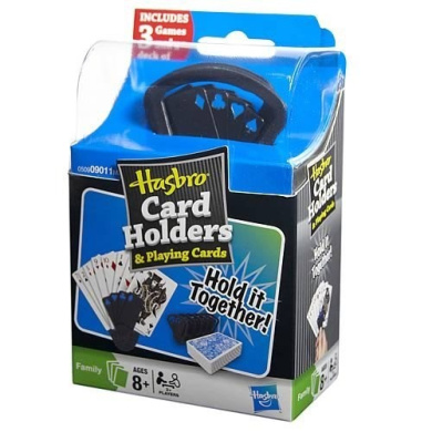 Hasbro Card Holders and Playing Cards