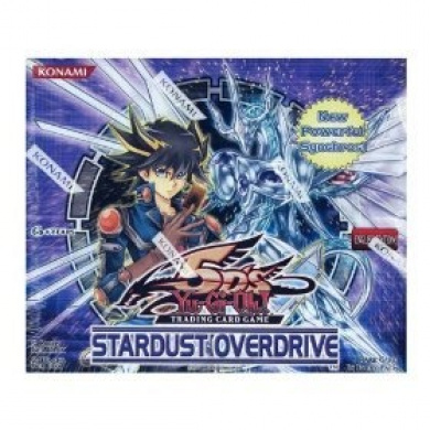Yugioh 5D's Stardust Overdrive Unlimited Booster Box (24 Packs)