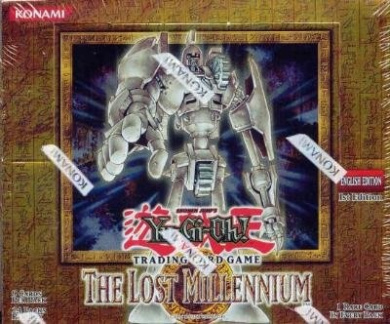 Yugioh: The Lost Millennium 1st Edition Booster Box [Toy]