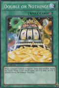 Yu-Gi-Oh! - Double Or Nothing (GENF-EN046) - Generation Force - 1st Edition - Common