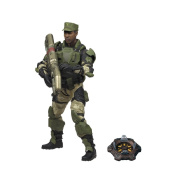 HALO 2009 Wave 2 - Series 5 Equipment Edition SGT. Avery Johnson, UNSC Figure