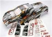 Traxxas ProGraphix Body, Clear, with Decal