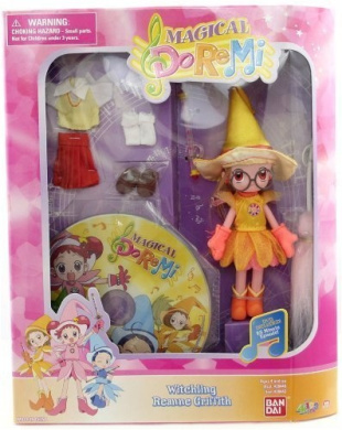Magical DoReMi Witchling Reanne Griffith with DVD