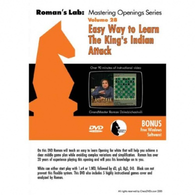 Mastering Chess DVD, Vol. 28: Easy Way to Learn the King's Indian Attack