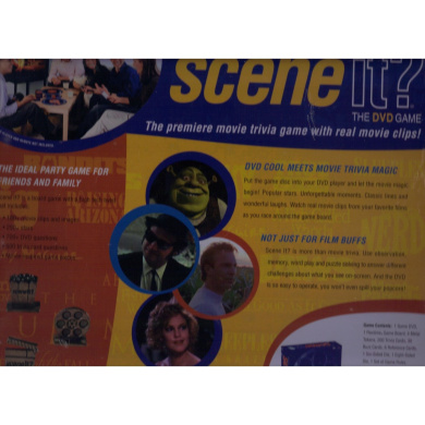 Scene It Deluxe Movie Collector's Tin Edition
