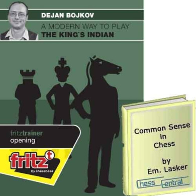 """A Modern Way to Play the King's Indian - Chess Opening & """"Common Sense in Chess"""" E-book (2 Item Bundle)"""