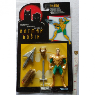 The Adventures Of Batman And Robin - Ra's Al Ghul action figure With Strike Shooter And Combat Sword