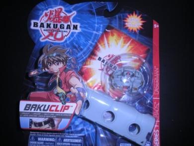 Bakugan Battle Brawlers Game BakuClip Luminoz Grey Random Bakugan Figure