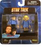 Star Trek Diamond Select Toys Series 4 Minimates Sick Bay Dr. McCoy and Nurse Chapel