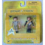 Star Trek Diamond Select Toys Series 3 Minimates Gladiator Kirk & Kor