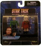 """Star Trek Diamond Select Toys Series Series 5 Minimates """"The Trouble with Tribbles"""" Kirk and Yeoman Rand"""