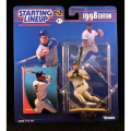 DEREK JETER / NEW YORK YANKEES 1998 MLB Starting Lineup Action Figure & Exclusive Collector Trading Card