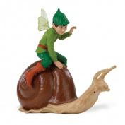 Safari Ltd 876129 Fairy Fantasies Ollie On A Snail Set
