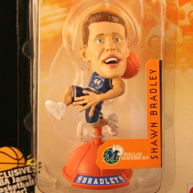 SHAWN BRADLEY / DALLAS MAVERICKS * 99/00 Season * NBA JAMS Super Detailed * 7.6cm * Figure