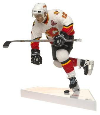 McFarlane Toys NHL Sports Picks Series 4 Jerome Iginla White Jersey Action Figure