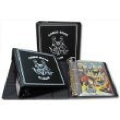 "BCW 7.6cm ""D Ring"" COMIC BOOK Collecting Album (Single) Binder - BLACK"