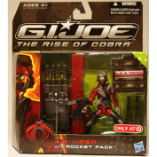 G.I. Joe Movie The Rise of Cobra Exclusive M.A.R.S. Troopers Action Figure AirViper with Rocket Pack