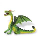 Bullyland - Bullyland Fantasy Figure Dragon sitting (green) 11 cm