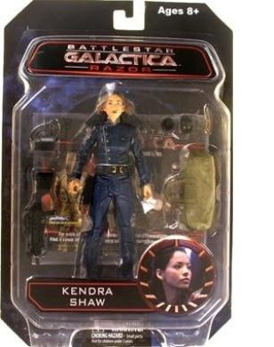 Battlestar Galactica Diamond Select Toys Series 3 Razor Action Figure Lieutenant Kendra Shaw