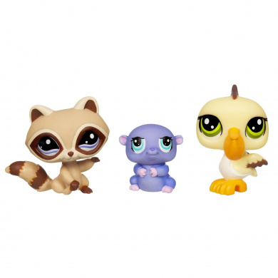 Littlest Pet Shop 3 Pack Of Pets 3