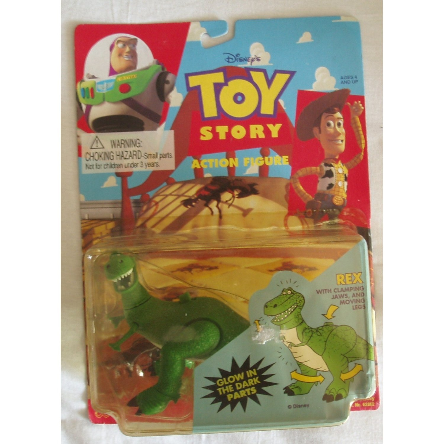 Toy Story Rex Action Figure by Toy Story - Shop Online for Toys in ...