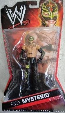 WWE Mattel Series 9 Rey Mysterio Wrestling Action Figure