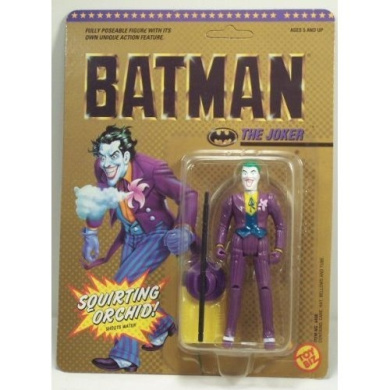 Batman Squirting Orchid the Joker Action Figure 1989