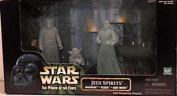 Star Wars Power of the Force Cinema Scenes Jedi Spirits with Anakin, Yoda, & Obi-wan Kenobi Action Figures By Hasbro