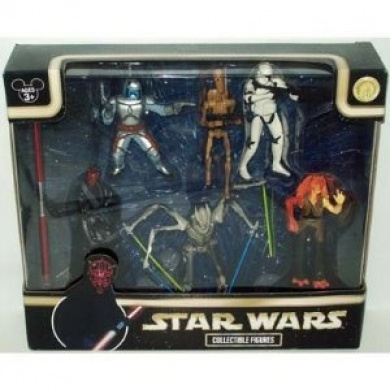 Star Wars Collectible Figure Set