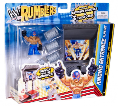 WWE Rumblers Ringing Entrance Playset and Figure
