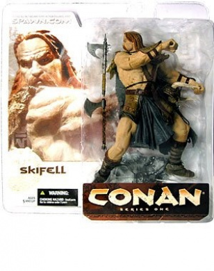 Skifell Figure Conan Series One McFarlane