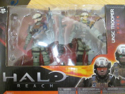 Halo Reach Series 1 UNSC Trooper 2 Pack