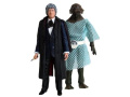 Third Doctor with 'The Sea Devils' Sea Devil