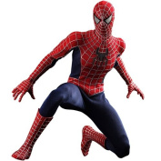 Spiderman 3 Hot Toys Movie Masterpiece 1/6 Scale Collectible Figure Spiderman